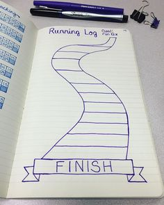 So excited to start using this running tracker in February. My goal is to run at least 12 times next month. I'll color in each segment until I cross the finish line. Cue .