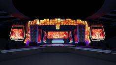 Concert stage design | 3D model