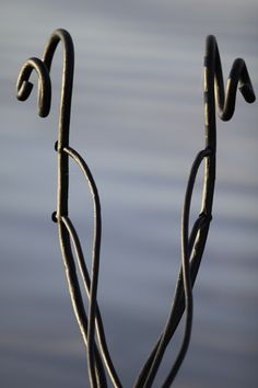 Galionsfigur aus geschmiedetem Stahl