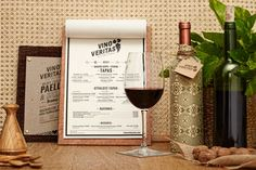 Vino Veritas ecologic restaurant by Masquespacio, Oslo   Norway restaurant branding branding