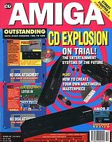 CU Amiga (Oct 1992) front cover