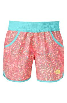 The North Face 'Dogpatch' Print Water Shorts (Little Girls) available at #Nordstrom