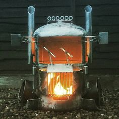 #TruckArt: Wood burners created byCaddyshackCreations, see more of his work here: