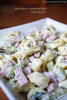 Tortellini, Tzatziki, Pasta Salad, Potato Salad, Cake Recipes, Food And Drink, Potatoes, Meals, Ethnic Recipes