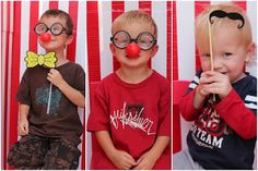 Melissa's Projects: Carnival Birthday Party