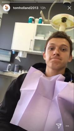 Tom Holland probably got his frog removed from his mouth.