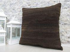 natural wool kilim pillow 20 x 20 turkey old pillow sofa pillow home pillow boho decorative pillow outdoor pillow kilim rug pillow
