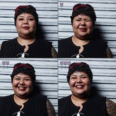 Drunk Portraits: Photographer Takes Fun Photos of People After One, Two and Three Glasses of Wine