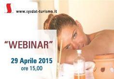 """Nuovo Webinar Sysdat Turismo dal Tema """"Il gestionale per le Beauty Farm in Hotel"""" Mercoledì 29 aprile ore 15.00"""