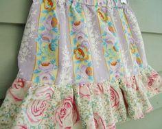 DIY Clothes DIY Refashion DIY Super Simple Ruffled Skirt thelongthread com