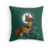 Fox Bride Throw Pillow
