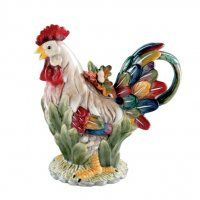 Rooster teapot. For the farmhouse.