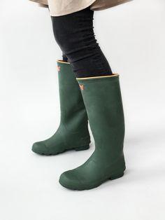 Irodori Natural Rubber Rain Boots