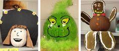 First Grade a la Carte: Pumpkin Characters