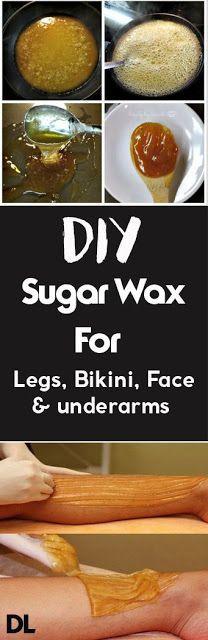 Remove Unwanted Hair With DIY Sugar Wax