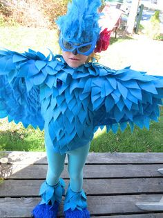 "The Simple Craft Diaries: ""RIO"" Halloween Costume"