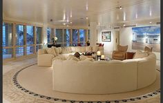 These couches - and the whole living room design - are very cool, love it!