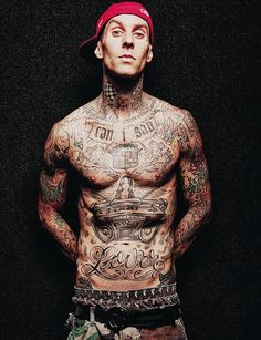 Travis Barker will always be attractive to me