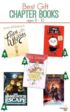 The best chapter books of 2013 to give your 8 - 10-year olds.