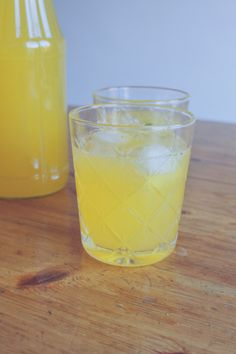 simpele citroenlimonade