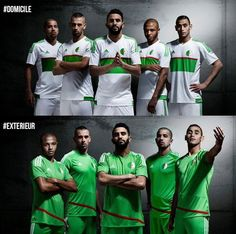 Algeria   home & away jerseys   2016-17