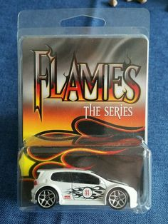 Hot Wheels Volkswagen Golf GTI. Flames The Series.  Sehr selten Volkswagen Golf, Hot Wheels, Garage, Ebay, Cars, Autos, Carport Garage, Garages, Car