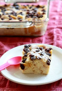This Traditional Bread Pudding is a great dessert for celebrations!