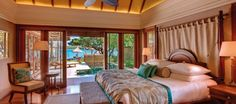 Looking for luxury rooms and suites at Constance Prince Maurice? Check availability at The Leading Hotels of the World Marbella Villas, Mauritius Hotels, Floating Restaurant, Oriental Hotel, Bookshelves In Bedroom, Prince, Overwater Bungalows, Leading Hotels, Beautiful Hotels
