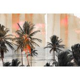 Featuring magnificent palm trees at sunset, the Bahia Canvas Wall Art by Parvez Taj will transport you to a balmy Brazilian beach. This fine canvas print is professionally hand stretched, gallery wrapped, and arrives ready to hang. Canvas Artwork, Canvas Art Prints, Canvas Wall Art, Frames On Wall, Framed Wall Art, Painting Frames, Painting Prints, Coastal Wall Art, Graphic Art