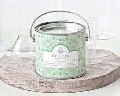 REVITALIZUJÚCI soľný kúpeľ - smrek - eucalyptus Barware, Jar, Jars, Glass, Tumbler