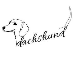 ideas tattoo dog dachshund love for 2019 Arte Dachshund, Dachshund Puppies, Dachshund Love, Daschund Tattoo, Tattoo Perro, Dashund, Weenie Dogs, Doggies, Dog Rules