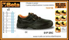 Calzature di sicurezza in pelle BETA