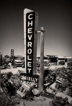 Chevrolet Dealership - Old Car Dealership Sign #cardealer #vintage #retro