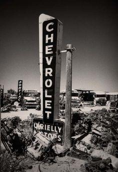 Chevrolet Dealership - Old Car Dealership Sign #cardealer #vintage #retro