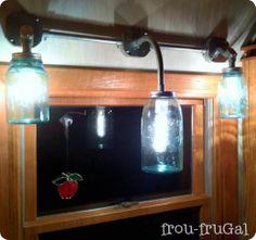 Mason Jar Light DIY