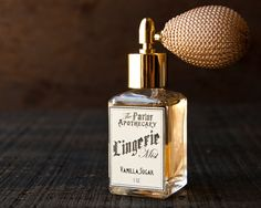 Lingerie Mist  Vanilla Sugar Perfume  by TheParlorApothecary, $36.00