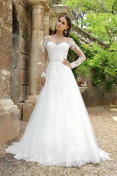 Lorin Wedding Dress With Sleeves
