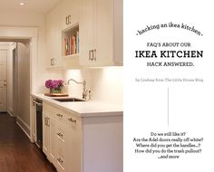Aubrey & Lindsay's Little House Blog: your questions answered / faq's about our ikea kitchen