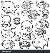 Neueste Fotos Meerestiere Illustration Gedanken Fotos Gedanken Illustration Meeres In 2020 Niedliche Tierzeichnungen Malvorlagen Tiere Wenn Du Mal Buch
