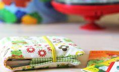 Nähanleitung zum Selbermachen: eine Minibuch Stoffhülle für 10 Pixibücher. | crafts idea & tutorial | DIY | nähen | sewing | was eigenes Blog