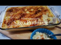 SAGO PUDDING - YouTube Easy Baking Recipes, Cake Recipes, Cooking Recipes, Milktart Recipe, Fun Desserts, Awesome Desserts, Milk Tart, South African Recipes, My Cookbook