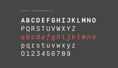 Semcon, the new typeface family AType