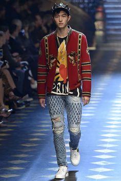 Dolce Gabbana Milan Menswear Fall Winter 2017, desfile masculino, tendencia masculina, inverno 2017, winter 2018, alex cursino, blog de moda, moda sem censura (62)