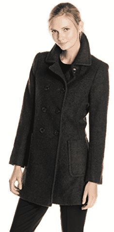Find T Tahari Women's Double-Breasted Wool-Blend Boucle Coat online. Shop the latest collection of T Tahari Women's Double-Breasted Wool-Blend Boucle Coat from the popular stores - all in one Vegan Leather Jacket, Lambskin Leather Jacket, Sweater Coats, Wool Coats, Women's Coats, Coats For Women, Clothes For Women, Boucle Coat, Classic Trench Coat