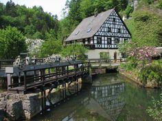 Pottenstein in der Nähe von Pegnitz am Nabel der Welt