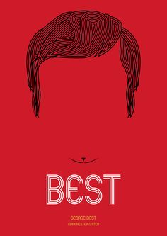 BEST (Manchester United Ver.) Art Print