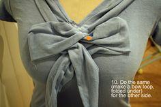 #DIY T-Shirt Refashion