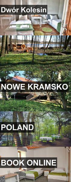 Hotel Dwór Kolesin in Nowe Kramsko, Poland. For more information, photos, reviews and best prices please follow the link. #Poland #NoweKramsko #DwórKolesin #hotel #travel #vacation