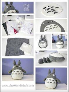 DIY Totoro! For Tatiana!!