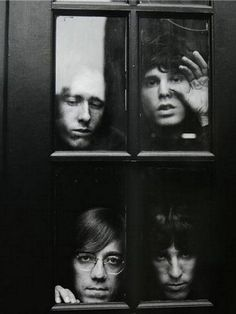 """Jim Morrison and The Doors """"... Before I sink into the big sleep  I want to hear, I want to hear   The scream of the butterfly...""""."""